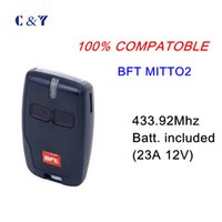 Wholesale Garage Remote Control Free Shipping - Wholesale-Free shipping! 433M BFT Mitto 2 remote gate, garage, remote control key fob
