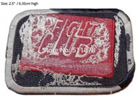 Wholesale Fancy Soaps - FIGHT CLUB Bar of Soap TV Series Fancy Dress Costume Embroidered iron on patch TRANSFER APPLIQUE