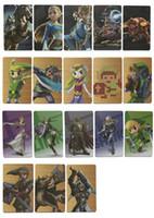 Wholesale Trade Wholesaler Baby Toys - 18 card set Mini card Zelda Amibo Maps Baby Toys Amibo NFC Tag Maps Breathing Wild Full Set