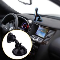 Wholesale Iphone Auto Rotate - 360 Degree Rotate Car Suction Cup Magnetic Holder Auto Windshield Mobilephone Bracket For iPhone 5 5s 6 6s GPS