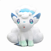 "anime new 2018 - Hot New 8"" 21CM Alola Vulpix Plush Doll Anime Collectible Dolls Stuffed Party Soft Gifts Toys"