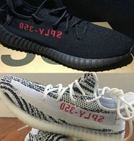 Wholesale Eva Letter - DHL free Top Factory cp9654 cp9652 v2 boost Sply 350 2017 Zebra White Red Sply 350 Inversed Backwards red letter Real Boost shoes