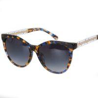 Wholesale Pearl Frame Round - Sale New 2017 Pearl Arms CH5376 Sunglasses Retro Women Brand Designer Fashion Brand Sunglasses Women Acetate 57-17-145 SunGlasses
