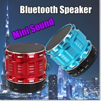 Wholesale Mini Sub Speaker - Mini Wireless Bluetooth Speaker S28 Support TF 3.5mm AUX USB Portable Hand Speaker with Mic Nice Sound Fashion Sport Sub Woofer