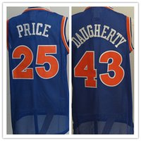 sport prices - Mens Mark Price Jersey Throwback Blue Cheap Brad Daugherty Basketball Jerseys Shirt Uniform Sports Mix Order