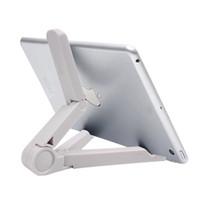 Wholesale Tablet Holder Sale - Wholesale- car Adjustable Mobile Phone Holder Hot Sale Mount Tablet Holder Lazy Support Foldable Bracket PC Stand For iPad Mini 2 3 Univer
