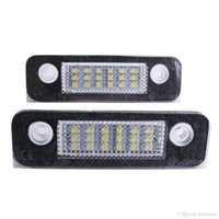 Wholesale 2x High Power LED Number License Plate Light Lamp For Ford Mondeo Mk2 Fiesta Mk5 Mk6 Facelift Fusion mini MPV P255