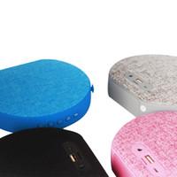 Wholesale Loud Portable Speakers Bass - Portable FM HIFI Bluetooth Speaker Wireless Stereo Loud speaker Super Bass Sound USB charging