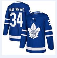 f40e56b57 Ice Hockey Unisex Full nhl hockey jerseys cheap Men s Toronto Maple Leafs  Blue Home Authentic Blank