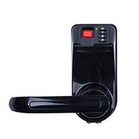 black fingerprint door lock biometric fingerprint door lock digital fingerprint password key lock black home