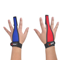 Wholesale Plain One Piece - 1 Piece Fly Fishing Single Finger Protector Gloves Fishermen One Finger Surfcasting Non-Slip Glove Useful Fishing Tools 2 Colors 2508029