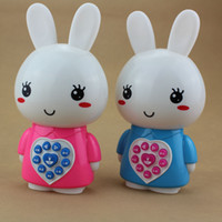 Wholesale Mp3 Baby - Little rabbit story machine Baby mp3 kid-learning children educational toys resistance fell 0-1-3 years 6 to 12 months