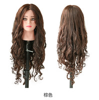 Wholesale Wig Mannequin Heads For Sale - 100% Natural human Hair Mannequin Head Hairdressing Hair for Hairdresser ,hair mannequins for sale