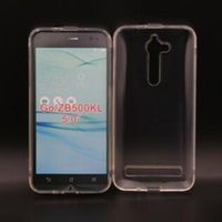 Wholesale Tpu Gel Asus - For ASUS Zenfone 3 ZE520KL ZenFone Go ZB500KL ZE552KL ZS570KL ZE551ML ZC520KL ZE554KL Soft TPU Gel Clear Transparent Case Phone Cover