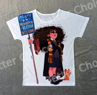 Wholesale Vintage Wizard - Track Ship+Vintage Retro Good Feeling T-shirt Top Tee Childhood Harry Potter Angry Student Hermione Wizard with Yellow Cat 0465