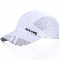 Wholesale Wholesale Mens Items - Wholesale- 2017 New Arrive Fashion Mens Summer Sport Baseball Hat Visor White cap Hot Popular Hot Item Cool