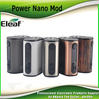 Wholesale Battery Circuits - Original Eleaf iStick Power Nano 40W TC Box Mod 1100mah Battery VW Bypass Smart TC Vaping Modes Dual Circuit Protection 100% Genuine 2205064