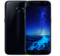 Wholesale 3g Android Dual Sim Smartphones - ERQIYU Goophone S7 Edge curved Smartphones MTK6592 Octa Core 3G RAM 64G shown 4G LTE Android 6.0 Dual sim Unlocked Cell phones