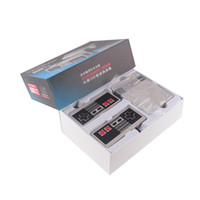 Wholesale Tv Game Boxes - Mini TV Handheld Game Console Video Game Console For Nes Games with 500 Different Built-in Games PAL&NTSC with retail box