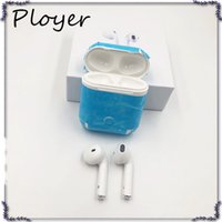 Wholesale ip earphone - i7 Bluetooth Earphone ip Android Wireless Charging Box In-Ear Twins Stereo 4.1 Earphone Headphones i7s tws In stock With Packaging DHL
