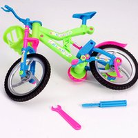 Wholesale Model Bike Kits - Wholesale- 1PC Plastic Bike Model Building Kits 28*16*10CM Colorful Simulation Disassembly Assemble Bike Children's Early Education DIY Toy