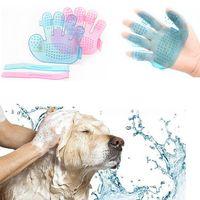 Pet Dog Cat Bath Brush Grooming Massage Glove Accessories Pet Supply Dogs Cat Tools Pet Comb