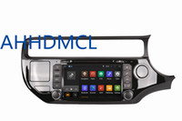Car DVD PC Audio Rádio Player Android 5.1.1 GPS DVR WiFi para Kia Rio Direita 2015 2016 2017