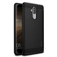 Wholesale Huawei Mate Tpu - 1.4MM IPAKY® Ultra Thin Brushed Case For Huawei Mate 9 Flexible Carbon Fiber TPU Phone Case for Huawei Mate 9 Case