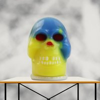 Wholesale Friendly Environment - Popular Toy Environment Friendly Metarial Rainbow Skull Runny Nose Water Balloon Minifigures Hand Lepin Anti Stress Relieve Toys Funny Ball