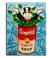 Wholesale Monopoly Travel - New Fashion travel Alec monopoly Graffiti arts paint canvas for wall art oil painting wall painting picture No framed