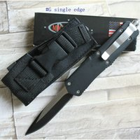 Wholesale microtech Troodon A07 models double action optional Hunting Folding Pocket Knife Survival Knife Xmas gift for men by epacket