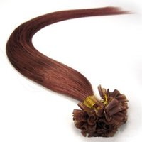 Wholesale u tip 22 613 for sale - U tip hair extension g strand strands nail tip pre bonded hair extensions