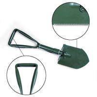 Wholesale folding shovels - Multifunctional Folding Shovel Car Spare Tool Snow Remover Home Improvement Hardware Camping Hunting e tool Gerber Folding Shovel