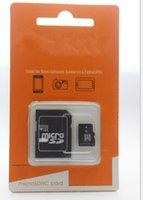 Wholesale Micro Sd 64gb Ship - 2017 shipping NEW 64GB 128GB MICROSD CLASS 10 MICRO SD GIFT MICRO TF FLASH MEMORY