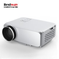 Wholesale Led Projektor Full Hd - Wholesale-GP9S Mini 4K Projector TV LED Proyector 1080P Projetor Full HD Digital Vedio HDMI Projeksiyon Home Theater Projecteur Projektor