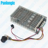 Wholesale Dc Motor Speed Controller 24v - Panongic 10-50V 100A 5000W Programable Reversible DC Motor Speed Controller PWM HHO Control 12V 24V High Quality Forward Reverse Switch