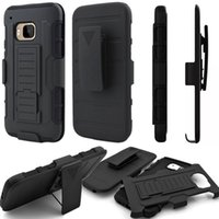 Wholesale M9 Belt - Future Armor Impact Hybrid Cases Cover For HTC Desire 626 510 530 630 M7 M9 Kickstand Hard Plastic Soft Silicone Clip Belt Shockproof Stand