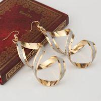 Wholesale Big Fashionable Earrings - Womens Earrings Rock Style Wholesale Big Earring Gold Silver Dangle Pins Fashionable Women Stars Design
