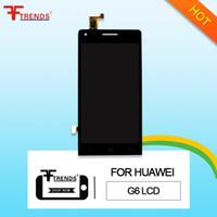 huawei p6 lcd touch großhandel-Hohe Qualität A +++ für HUAWEI Ascend P6 G6 G7 LCD Touchscreen Digitizer mit / ohne Rahmen
