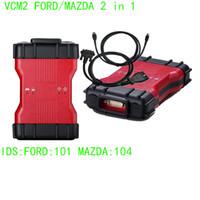 Wholesale Mazda Airbag Codes - Newest IDS V101 VCM 2 For Mazda Ford 1996-2015 Years VCM II OBD2 Scanner VCM2 IDS Diagnostic Tool