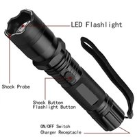 Wholesale Led Diving Flashlight Dive Torch - Hot Sale New 1101 Type Light Flashlight Plus Cree Led Tactical Flashlight Lanterna Self defense Torch 18650(built-in) Free Shipping