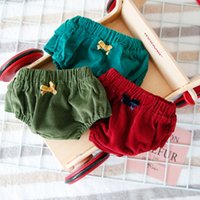Wholesale Super Cute Girl Baby - 3 style Ins new arrivals baby kids PP short 100% high quality girls shorts All-match super cute fall shorts free shipping