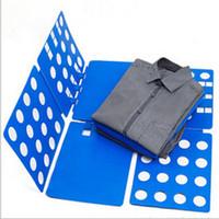 Wholesale Dress Folder - Wholesale-Children Kids Baby Dress T Shirt Fold Clothes Folder Flip Laundry Organizer Board
