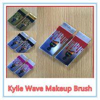 Wholesale Glass Cup Brush - Kylie Jenner makeup brush cosmetic foundation BB CC cream Powder make up brushes Tools set Kylie Jenner wine glass cup shape waved brush