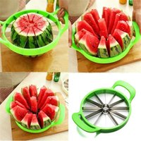 Wholesale Stainless Steel Watermelon Melon Cutter Melon Slicer Kitchen Fruit Cutting Tool CM in Diameter TV Selling