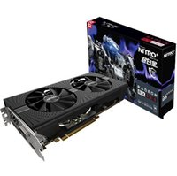 Wholesale Radeon Graphics Card - NEW Arrival Sapphire Radeon Nitro+ RX 580 video card RX580 8G DDR5 graphics card DirectX12 2304SP 1340 7000MHz PK RX570 GTX 1060 RX480