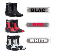 Wholesale Boots For Bikers - New Ankle joint protection motorcycle boots Pro-Biker SPEED boots for motorcyle Racing Motocross Boots BLACK RED WHITE