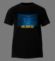 ABBIAMO L'UE PETITION STAY REMAIN L'UNIONE EUROPEA ANTI BREXIT T-Shirt Stampa Uomo T-Shirt Estate