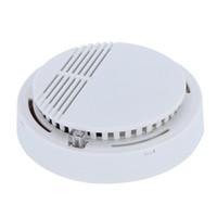 feueralarmsysteme großhandel-Rauchmelder Alarme System Sensor Feuermelder Freistehende Drahtlose Detektoren Home Security Hohe Empfindlichkeit Stabile LED W 85DB 9 V Batterie 50