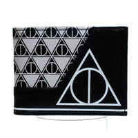 Wholesale Animated Boy - Harry potter animated cartoon wallet young students personality wallet Boys and girls fashion wallet potter DFT-1457